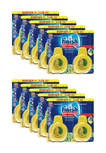 Finish Spülmaschinen Deo Citrus & Limette Duopack 10er Pack (10 x 2 Stück)