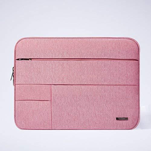 Ericcay Laptop Rucksack Universal Notebook Schutztasche Tasche Elegant Und Einfach Stilvolle Unikat Business Paket 13,3 Zoll Cherry Red Taschen (Color : Liner Bag Pink, Size : 12