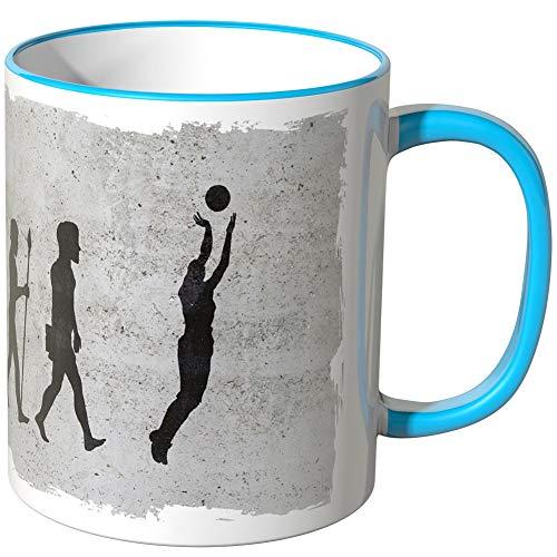 �hle Motiv & Farbe -Evolution Basketball - Blau ()