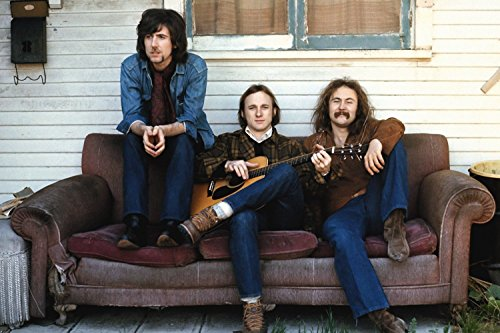 TST INNOPRINT CO Crosby, Stills, Nash & Young Classic Rock Band Poster 13x19 inches