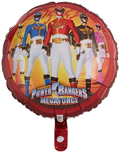 Amscan Power Ranger Mega Force Standard HX Folie (Halloween Forces Special Kostüme)
