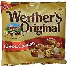 Werthers Original Caramelos de Mantequilla y Nata Fresca - Paquete de 24 x 135 gr -