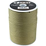 Kombat UK Lightweight Unisex Outdoor Paracord Reel available in Coyote - 100 Metre