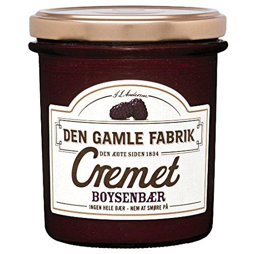 Den Gamle Fabrik Marmelade Cremet Boysenbeere