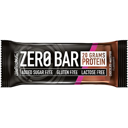 Biotech usa - barretta zero bar - 50g - doppio cioccolato