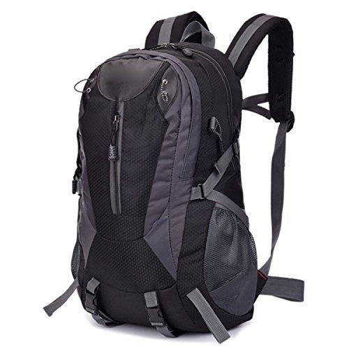 Mode Outdoor Umhängetasche Klettern Wasserdicht Breathable Multi - Zweck Reisetasche,DarkBlue Black