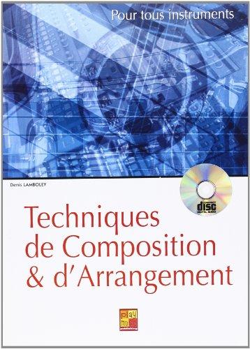 Techniques de composition et d arrangement +CD