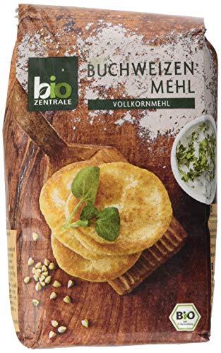 biozentrale Buchweizenmehl, 6er Pack (6 x 500 g)