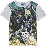 DC Comic Batman In Action, T-Shirt Garçon, Gris, 6 Ans