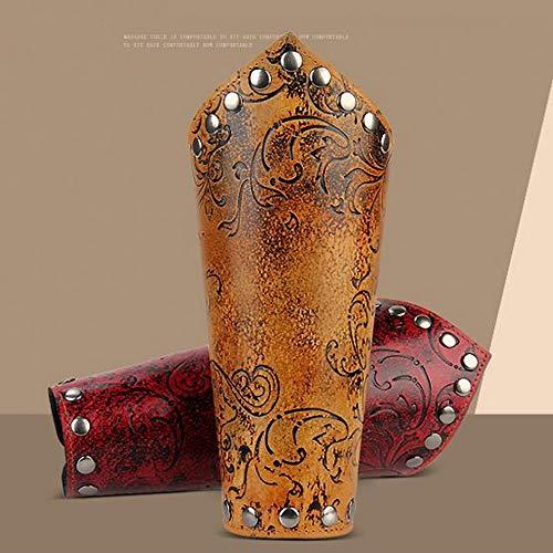 nkel einstellbar Armband Armschützer Stulpenmanschette Mittelalterliche Armschienen, Unisex (2 Stück/Set) ()