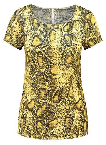 Key Largo Damen T-Shirt WT Reptile gelb (31) 34 -