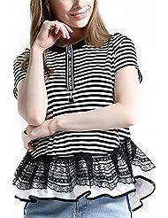 Keno camiseta mujer - 95% algodón - T shirt - M