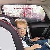 OneMoreT 2 par/par de parasoles de malla negra para la salud del bebé de alta calidad DIY coche ventana calcetines Sox se adapta a la mayoría de los coches