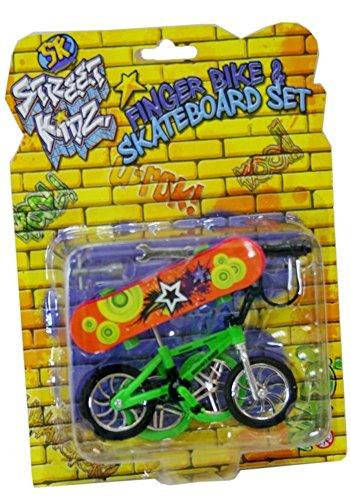 STREET KIDZ Finger BMX Bike et planche à roulettes Set 5033849277963