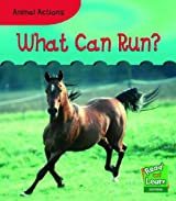 Animal Actions What Can Run? Hardback