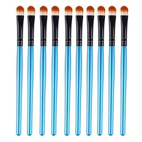 SynthéTique Fusion De Fond De Teint Concealer Eye Visage Liquide Poudre CrèMe10Pcs Maquillage Outil CosméTique Fard à PaupièRes Contour Des Yeux Poudre De Poudre MéLange Brus Concealer Cosmetics Brush