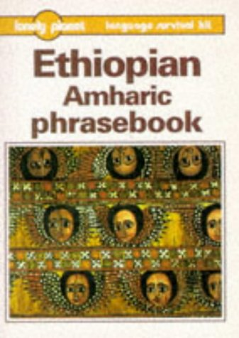 Ethiopian Amharic Phrasebook Lonely Planet Language Survival Kits