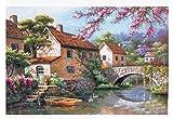 Elegante natürliche Landschaft Puzzles Hauptdekorationen Puzzles 1000 PC