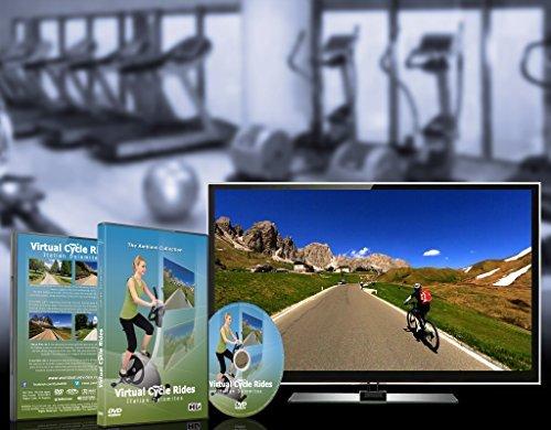 Virtuelle Fahrradstrecken – Italienische Dolomiten – für Indoor-Cycling - 6