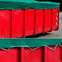 Containernetz Ladungsnetz Anhängernetz Abdecknetz Gummiseil verschiedene Größen