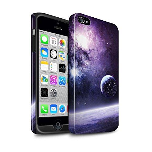 Offiziell Chris Cold Hülle / Glanz Harten Stoßfest Case für Apple iPhone 4/4S / Pack 12pcs Muster / Fremden Welt Kosmos Kollektion Planet/Mond