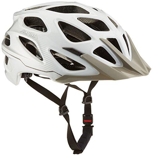 ALPINA Mythos 3.0 Fahrradhelm, White/Silver, 57-62 cm