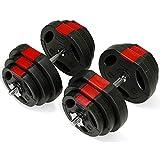 TNP Accessories® Dumbbell Weights Set 20KG / 30KG / 40KG / 50KG Dumbbells Bar Set ***NEW LOOK***