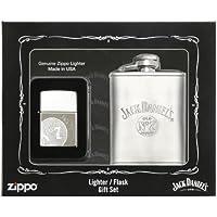 Zippo jack daniels lighter & cantimplora gift conjunto lighter cromo