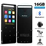 Lettore MP3 Bluetooth 4.2 Portatile 16GB, Regiono con Radio FM/Registratore...