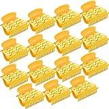 Caldo Capelli a Rullo Clip Artiglio per Bigodini in Plastica Rulli per Capelli per Piccolo, Medio, Grande e Rullo Capelli (15 Pacchi, Stile A)