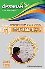 Optimum Educational DVDs HD Quality for Std 11 MH Board Mathematics Part 2
