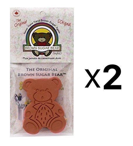 (2er Pack) The Original Brauner Zucker Bär
