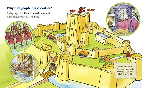 Castles: A non-fiction book packed full of information about castles. (Collins Big Cat): Band 07/Turquoise