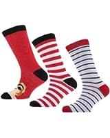Mädchen Socken mit Tiermuster, reich an Baumwolle (3er Pack)