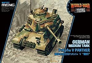 Meng Model WWT-007 Pzkpf. V Panther - Maqueta de plástico para modelismo