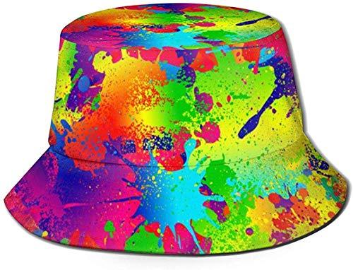 NA Hat Spritzlack, Sonnenfischer, Hut, UV-Schutz, faltbar, leicht, atmungsaktiv, Schwarz