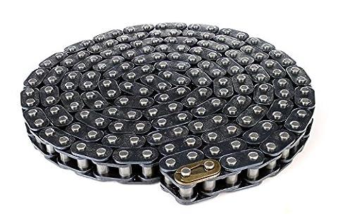 Drive Chain Mini Moto 8mm / T8F + Split Link 1m 2m 3m 4m 5m (100cm, Steel)