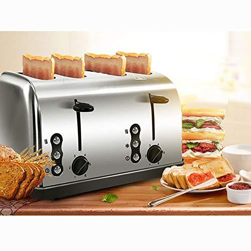ZUEN Edelstahl Toaster automatische schnelles Erhitzen Brot Toaster Home Nutrition Frühstück Ofen Heizung Maschine (Schnelle Toaster Ofen)