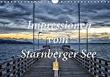 Impressionen vom Starnberger See (Wandkalender 2018 DIN A4 quer): Genießen Sie 12 emotionale Bilder, die den Starnberger See im Licht der Jahreszeiten ... [Kalender] [Apr 25, 2017] Marufke, Thomas