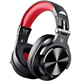 OneOdio Bluetooth Kopfhörer Over Ear, Geschlossene Studiokopfhörer mit Share Port, kabellose & kabelgebundene DJ Kopfhörer mit 6.35 & 3.5mm Buchse für E-Drum Piano Gitarre AMP Recording Monitoring PC