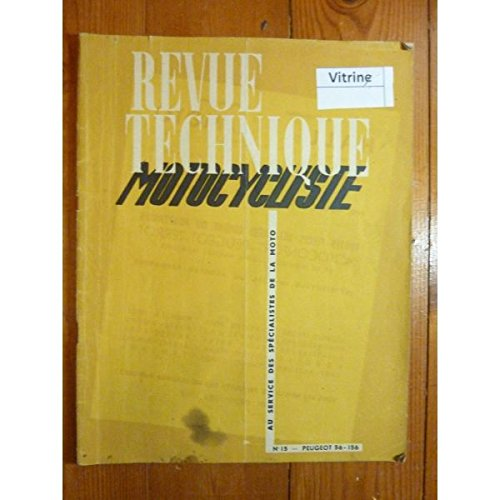 REVUE TECHNIQUE MOTO PEUGEOT 56-156 2 temps RTM0015 - Mars 1949