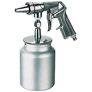 ASTURO 3272000Sandblasting Gun for Semi Professional PS-4, Silver/Grey