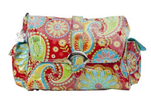 kalencom-laminated-buckle-changing-bag-gypsy-paisley-red-by-kalencom