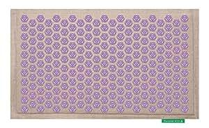 Tapis de Fleurs - Soulage les douleurs de dos - Violet