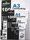 PAVO Laminierfolien HIGH PERFORMANCE QUALITY - 15 Sorten wählbar -100 Stück, Premiumqualität A5 75
