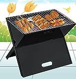 Petit Barbecue BBQ Grill a Charbon GrilleBarbecue à Charbon Acier Noir