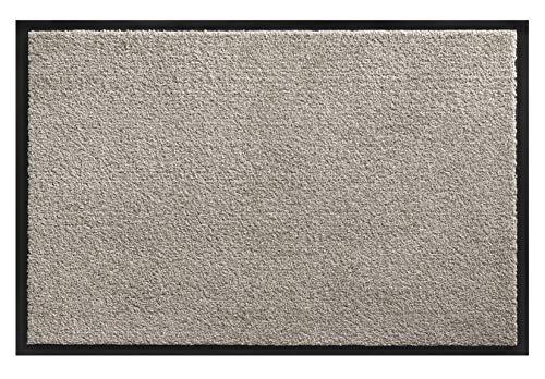 Northam Premium Eingangsmatte | Fußabtreter | Schmutzfangmatte | Türmatte | Matte v. Größen & Farben (Grau, 60 x 90 cm)