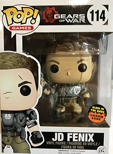 Pop! Games: Gears Of War: Jd Fenix - Slimed Glow In The Dark #114 Vinyl Figure