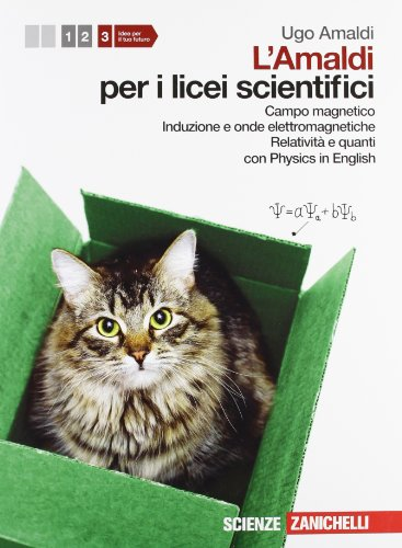 Amaldi per i licei scientifici. Con Physics in english. Con espansione online: 3