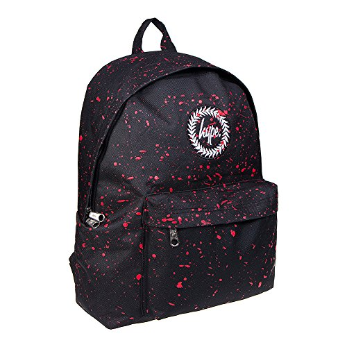 Just Hype Hype bag kit (Splatter), Borsa a spalla uomo Taglia Unica Black / Red